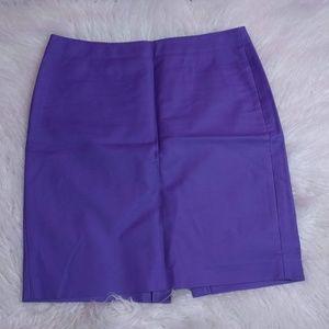 @ J. Crew #2 Skirt sz 16 Purple Pencil Career